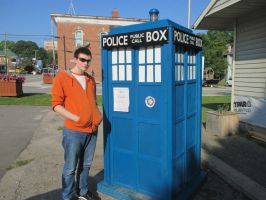 Oh yeah. I found the TARDIS that one time. by SuperSmash3DS