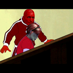 [GIF] Mr Red Punch by WitchyGmod