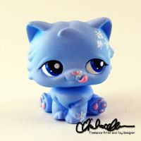 Amy the Winter Cat LPS custom by thatg33kgirl