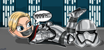 Captain Phasma Tape gagged by gaggeddude32