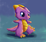 Baby Dragon first steps by Almiux19