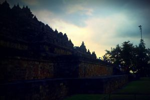 Borobudur Temple - Seven Wonders from Indonesia by devinakemmy