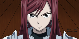 Fairy Tail  Episode 146 Erza Scarlet Color by Hada-Chan