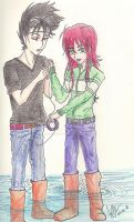 18 Doing Something Together by The-Insomiac-Artist