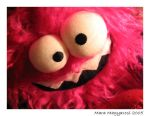 Pink Monster by crazycrazyme