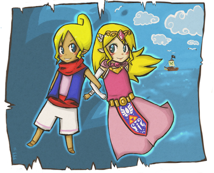 The Princess and the Pirate by EweRox
