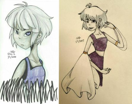 1 Year Improvement by nattycakes99
