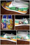 Avengers Custom Shoes by Alexia33024
