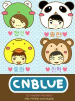 CNBLUE THE ZOO by awalk