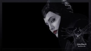 Angelina Jolie Maleficent 1920 x 1080 FULL HD by FABRYKING61
