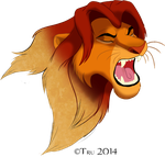 Simba-Sketch to Roar by TruLion
