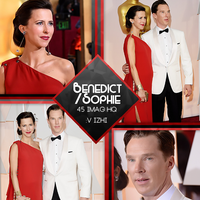 +Photopack Benedict Cumberbatch/Sophie Hunter by AHTZIRIDIRECTIONER