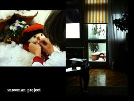 snowman project. by ginTonic13