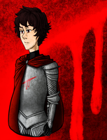 Knight of Blood - Karkat by dontevenknow-anymore