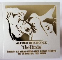 The Birds - Alfred Hitchcock - laser card by Piciuu