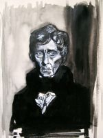 Peter Cushing by Dylandraw