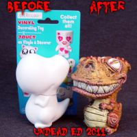 Munny Style Tina Rex Compare by Undead-Art