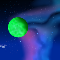 Green Fantasy Planet new ver. by NinditaSiAger2