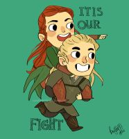 It is our fight by knightJJ