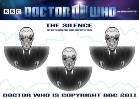 Doctor Who -The Silence by mikedaws