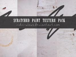 Scratched Paint Texture Pack by ridic-ulous