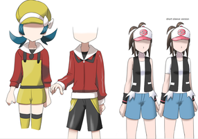Pokemon Trainer Revisions by CrystalClair