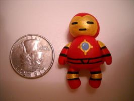 Iron man poly clay by ShepardCommanderN7