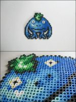 Nu from Chrono Trigger bead sprite by 8bitcraft