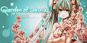 Garden of sakuras by TifaxLockhart