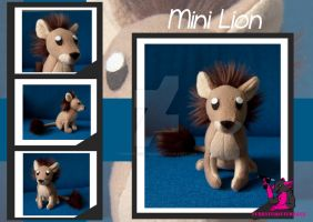 MINI Lion - EF19 by FurryFursuitMaker