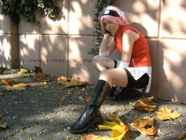 Sakura Haruno - Waiting by Wings-chan