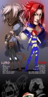 Nian + Lobo Reference by Del-Borovic
