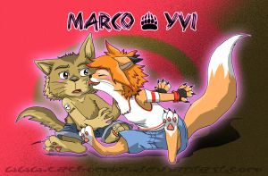 Yvi and Marco by Cachomon
