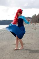 Twirling Ariel by mai-nightmare