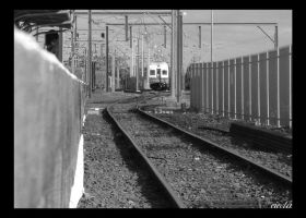 Wollongong Train Line, South by dsx001