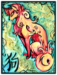Chinese Zodiac: DOG by IceandSnow