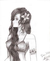 Hibiscus Flower by mileybird