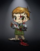 Dexter Morgan - Chibi style by jessiejazz