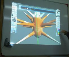 Hands on the 3D Model by PequenosArtistas