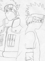 Kakashi: Young and Old by Kiranaomipartners