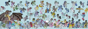 My Little Pony: Art For Michael Mural 4 by kernal-flob