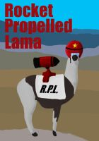 Rocket Propelled Lama by silentbob368