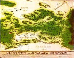 Zombie Russia (the 'Ruswamp') by theSuricateProject