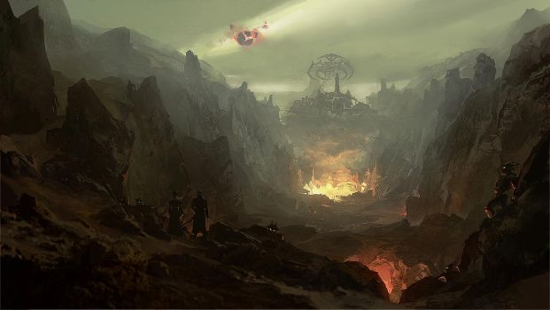Valley of the Damned by merl1ncz