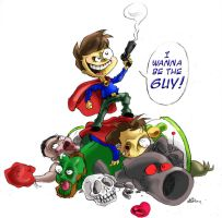 No, I wanna be the GUY by mariods