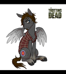 Trotting Dead - Daryl Dixon by PumpkinHipHop