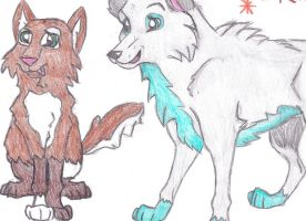 Some very old art, just for laughs by Akadafeathers