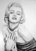 Marilyn Monroe by AevalCelt