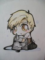 Little Chibi Alphonse Elric by queenoftheserpentine