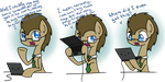 Another Doctor Whooves Ask Blog 003 by CuTTyCommando